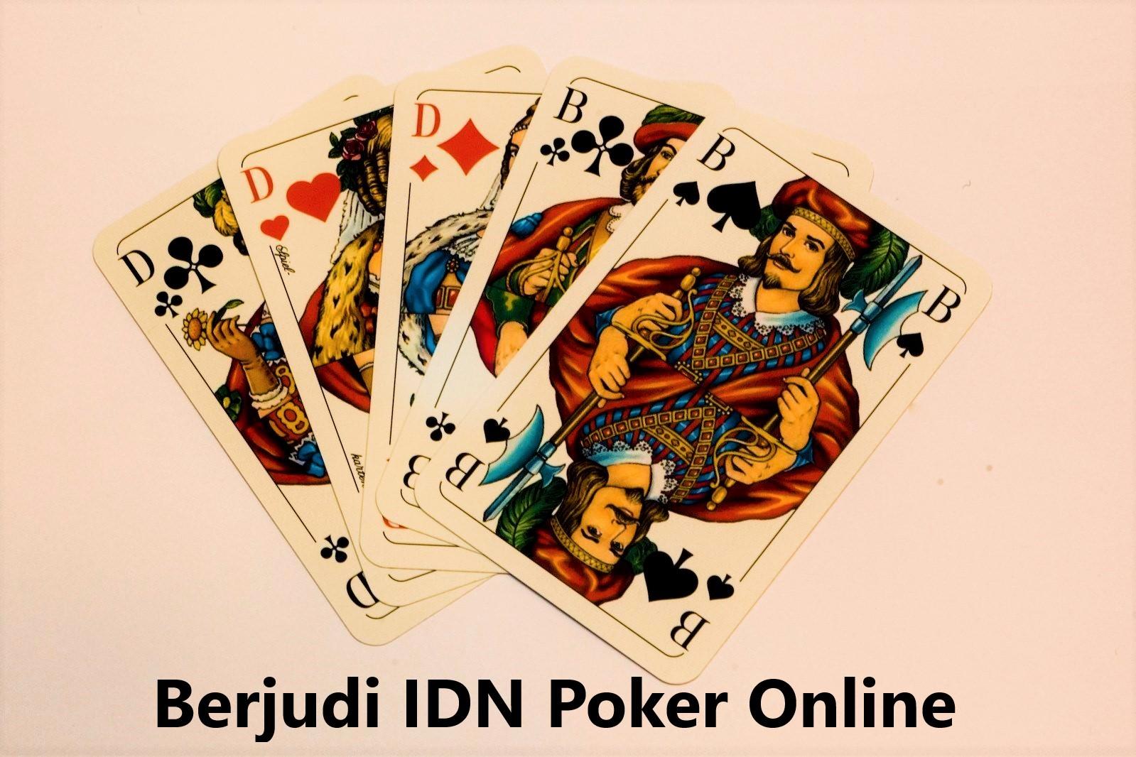Berjudi IDN Poker Online