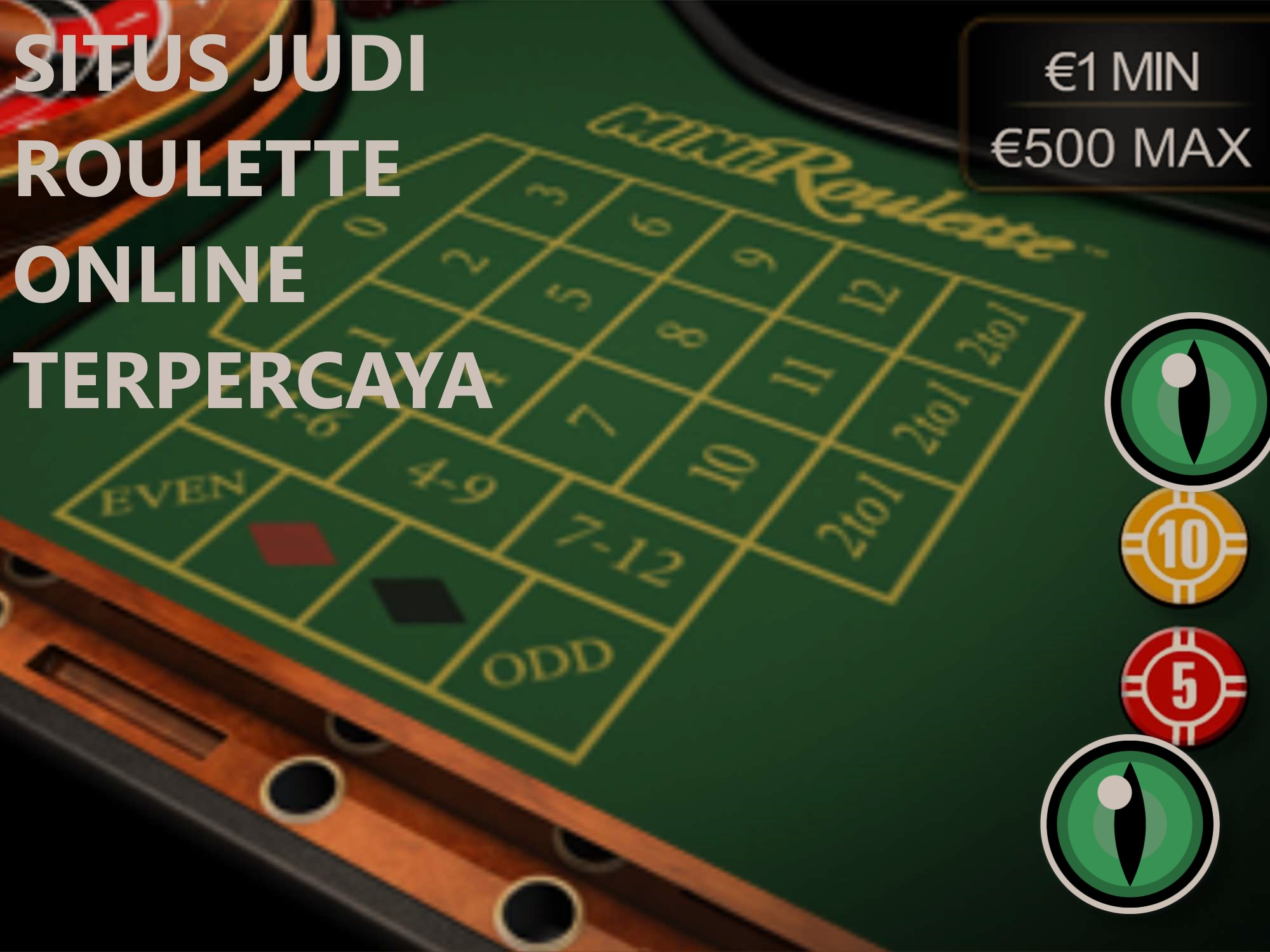 Mainkan Judi Roulette Dan Dapatkan Manfaatnya
